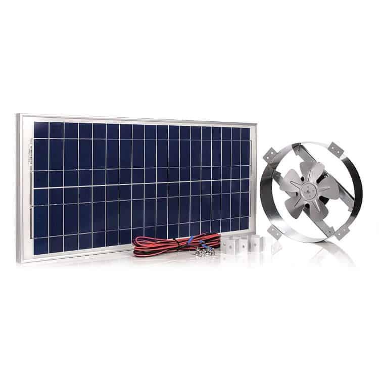Amtrak Solar Fan Image