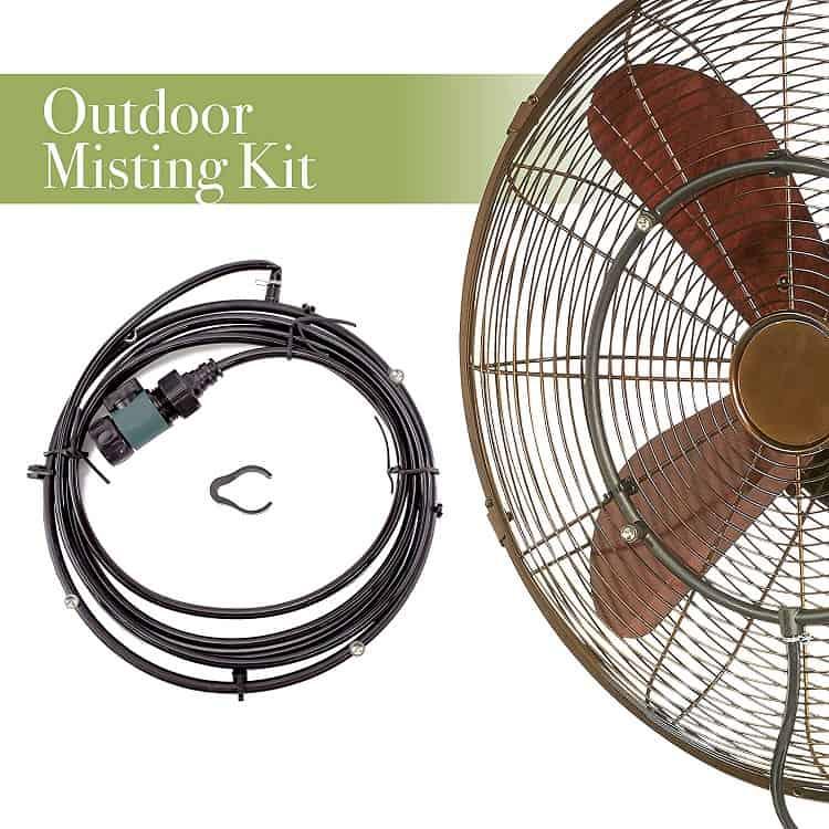 DecoBREEZE Outdoor Misting Kit Image