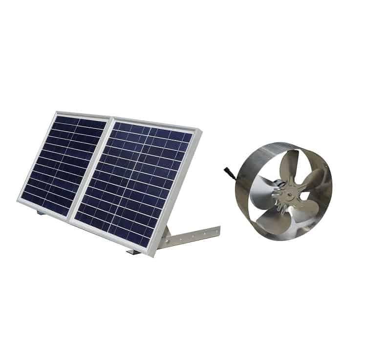 ECO-WORTHY 25W Solar Powered Attic Ventilator Image