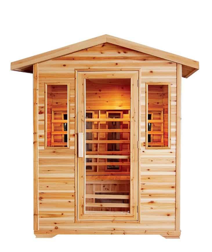 Cayenne 4-person Sauna Image